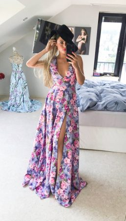 Valentine Rose Dress